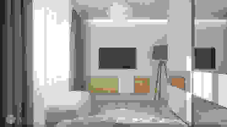 Dormitorios de estilo moderno de hexaform Moderno