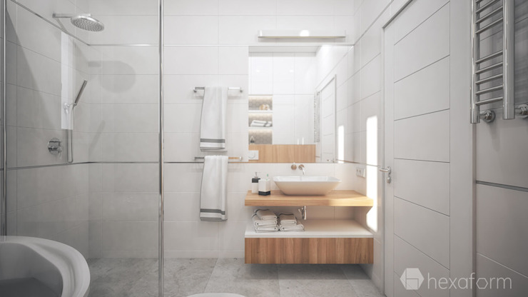 hexaform Modern bathroom