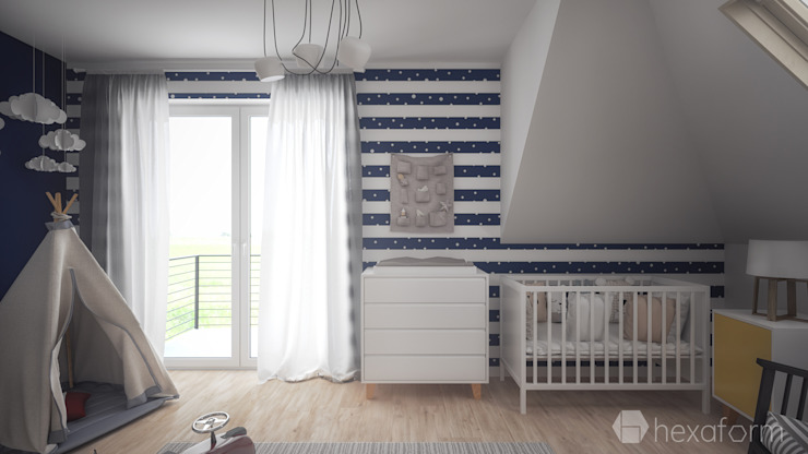 hexaform Scandinavian style nursery/kids room