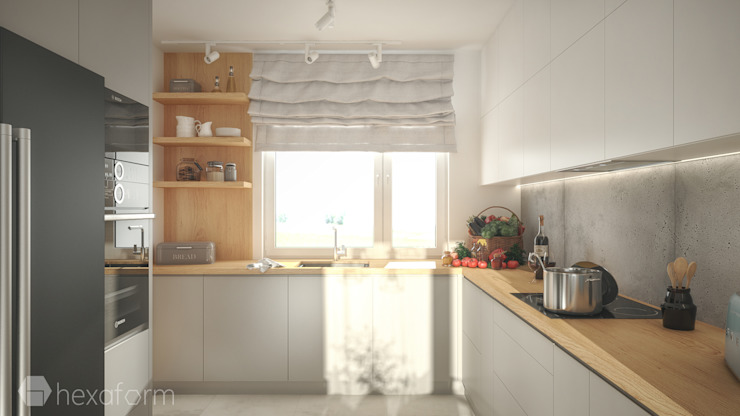 hexaform Scandinavian style kitchen