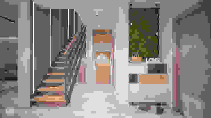 hexaform Scandinavian corridor, hallway & stairs