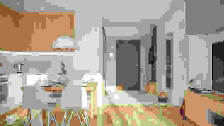 hexaform Scandinavian style kitchen