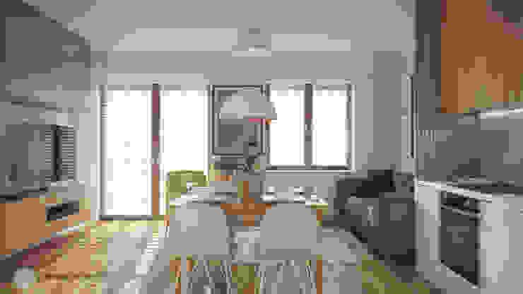 hexaform Scandinavian style living room