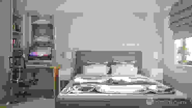 Scandinavian style bedroom by hexaform Scandinavian