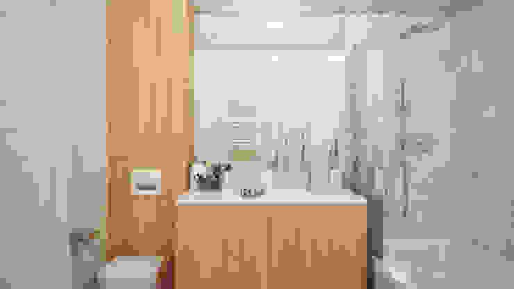 Scandinavian style bathroom by hexaform Scandinavian
