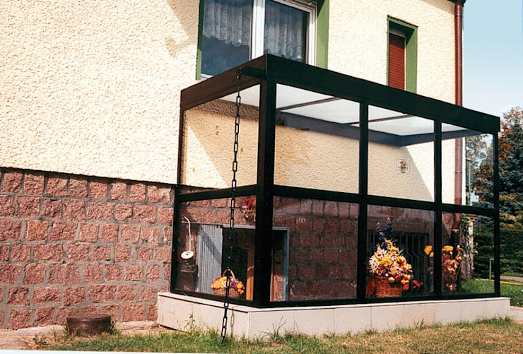 Montage & Design Gunter Uhlig Patios & Decks Aluminium/Zinc Brown