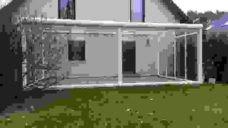 Montage & Design Gunter Uhlig Classic style conservatory Aluminium/Zinc White