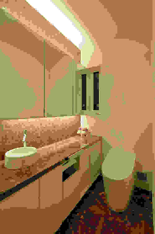 株式会社Fit建築設計事務所 Modern style bathrooms