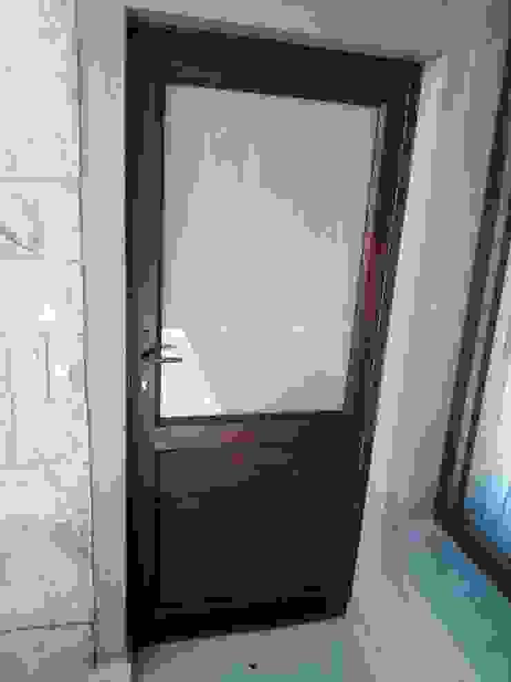 SINGLE DOOR AFTER by ALUWOOD WINDOWS AND DOORS