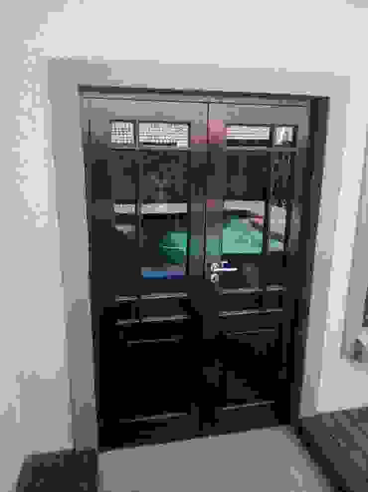 DOUBLE DOOR BEFORE by ALUWOOD WINDOWS AND DOORS