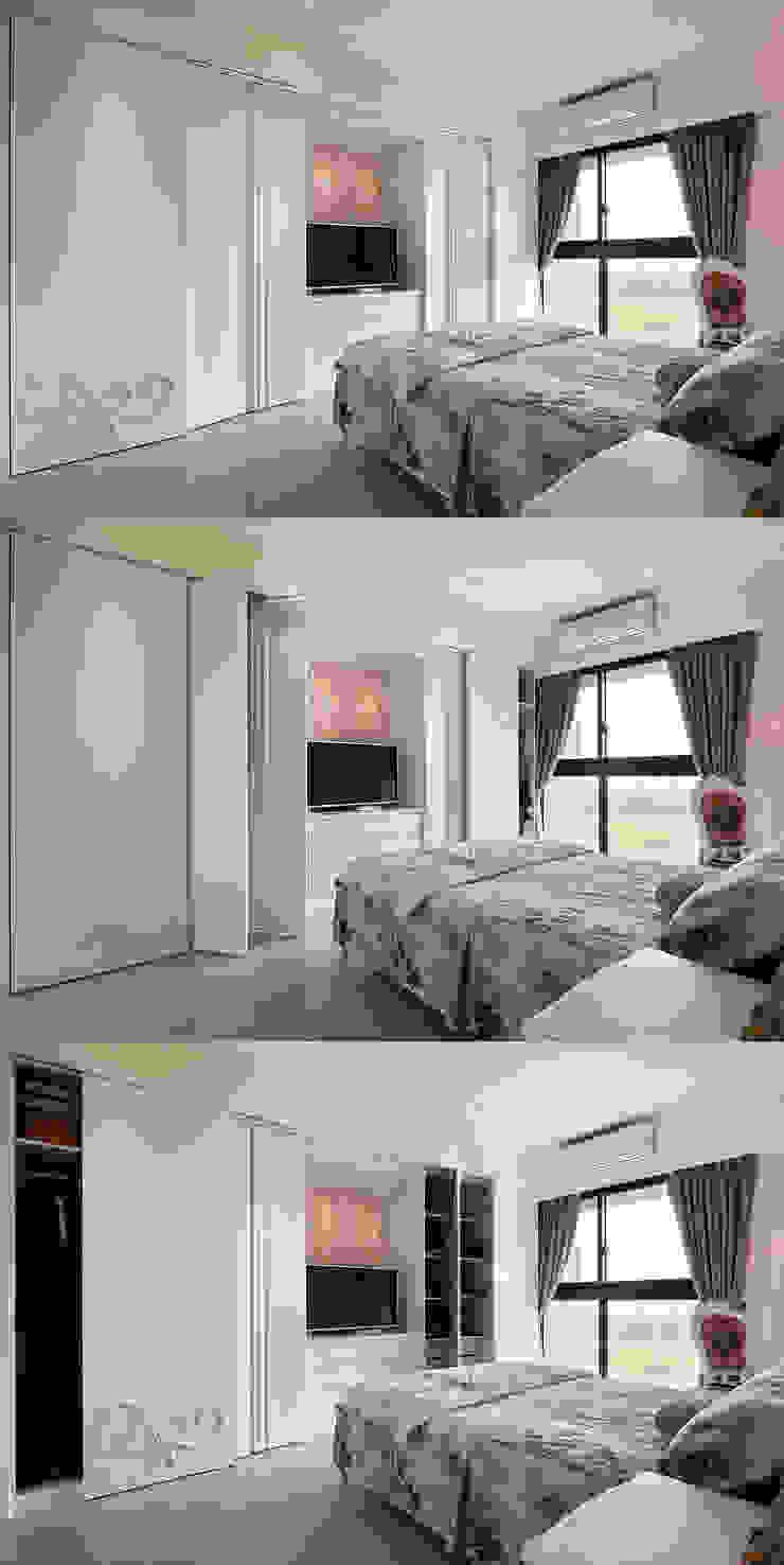 Q:想海量收納,空間又不被壓迫? 根據 趙玲室內設計 古典風