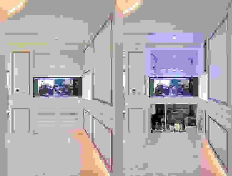 Q:機器散熱怎麼辦? 經典風格的走廊,走廊和樓梯 根據 趙玲室內設計 古典風