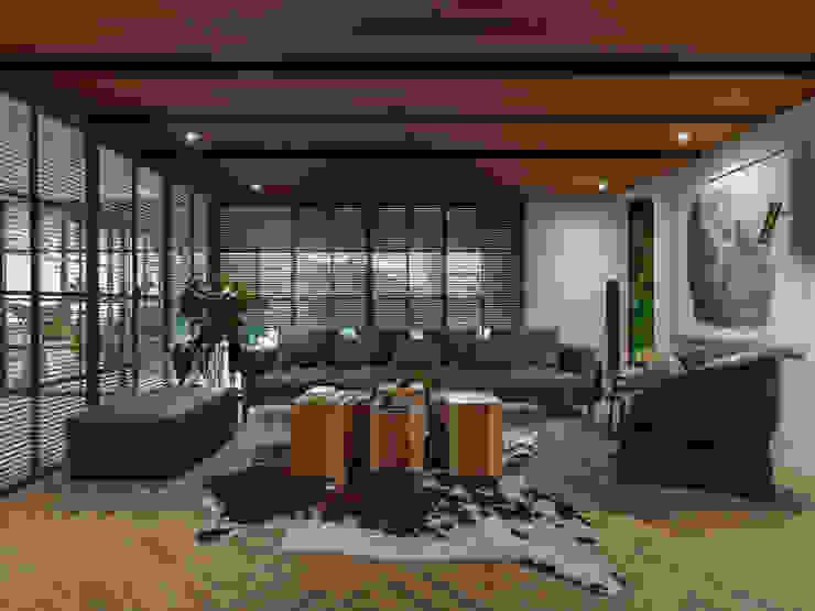 辦公室 根據 雅群空間設計 現代風