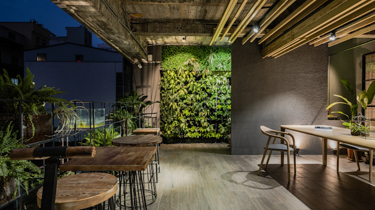 構享聚落 根據 雅群空間設計 現代風