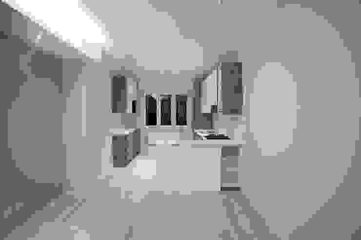 Appartamento Milano via Rembrandt - 78 mq Cucina moderna di Ristrutturazione Case Moderno