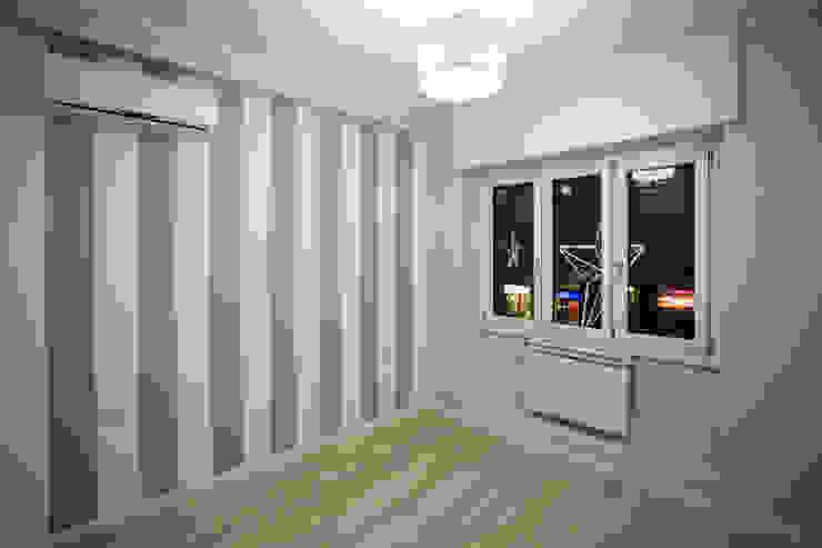 Appartamento Milano via Rembrandt – 78 mq Camera da letto moderna di Ristrutturazione Case Moderno