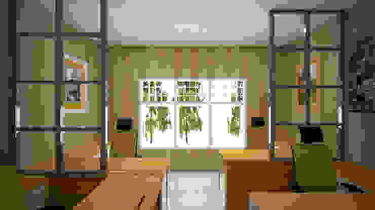 Ruang Komisaris Ruang Studi/Kantor Modern Oleh Vaastu Arsitektur Studio Modern