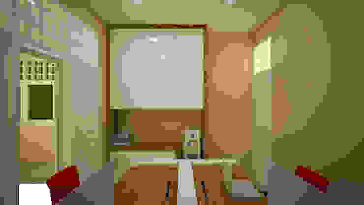 Ruang Keuangan Ruang Studi/Kantor Modern Oleh Vaastu Arsitektur Studio Modern