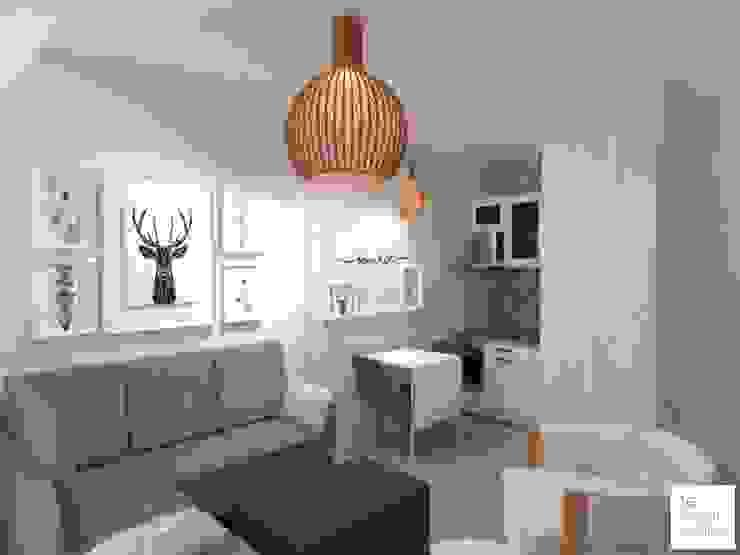 living : Livings de estilo  por Arquimundo 3g - Diseño de Interiores - Ciudad de Buenos Aires,Ecléctico