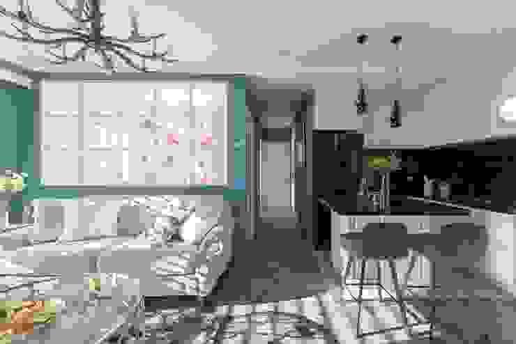 復古歐風X美式鄉村 根據 層層室內裝修設計有限公司 鄉村風