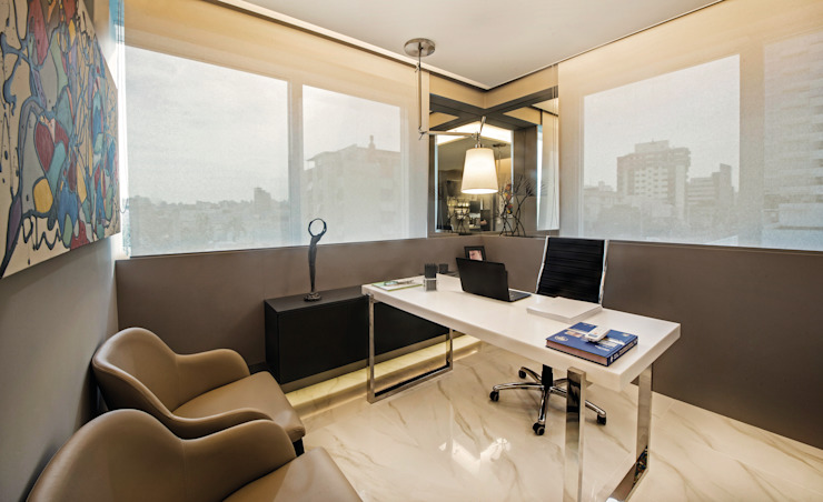 Modern Study Room and Home Office by BG arquitetura | Projetos Comerciais Modern