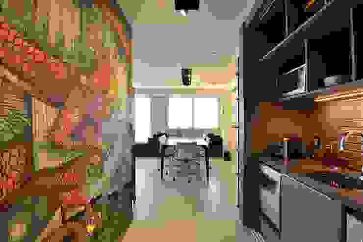 インダストリアルな商業空間 の BG arquitetura | Projetos Comerciais インダストリアル
