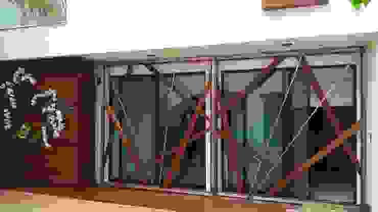 Madera de Arquitectura Orgánica Viviana Font Moderno