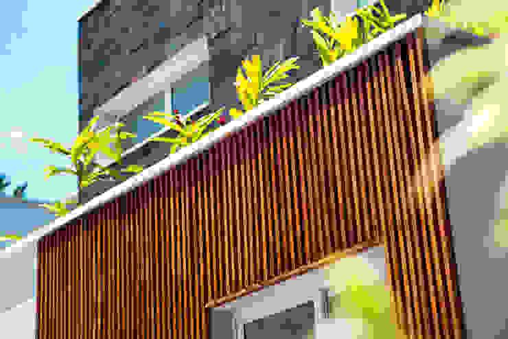 hiện đại  theo VN Arquitetura, Hiện đại Gỗ Wood effect