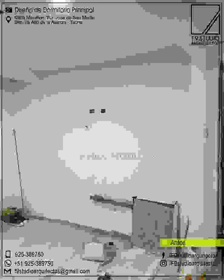 Estado Actual de Ambiente a Remodelar de F9.studio Arquitectos