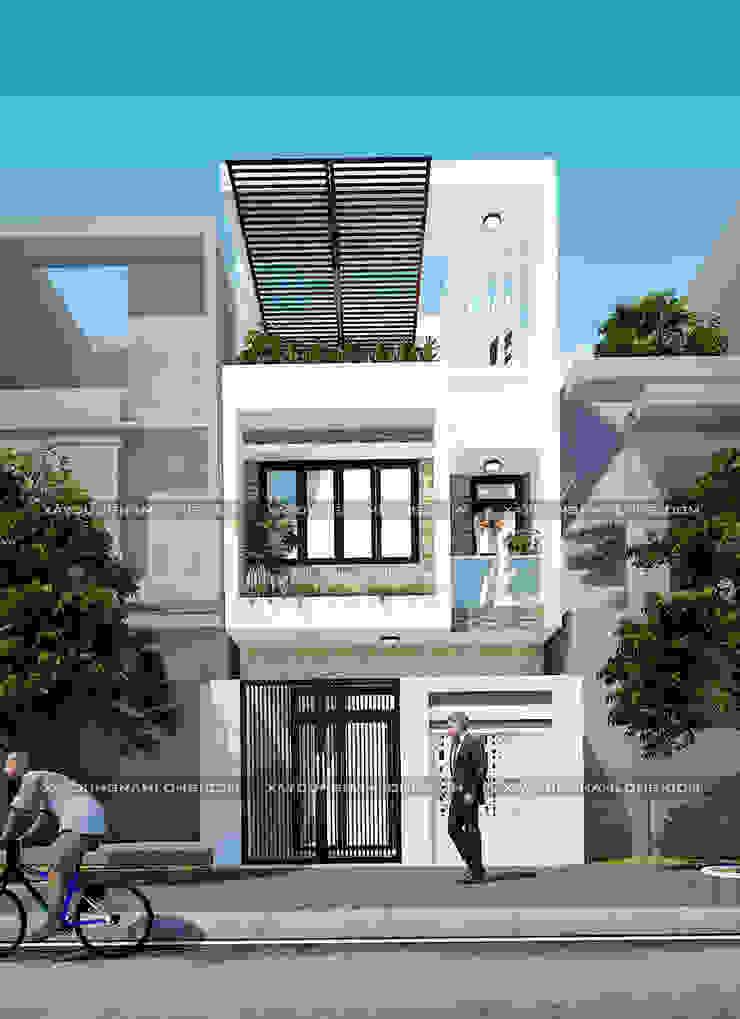 Thiết kế nhà ống diện tích 5x16m bởi Công ty cổ phần tư vấn kiến trúc xây dựng Nam Long