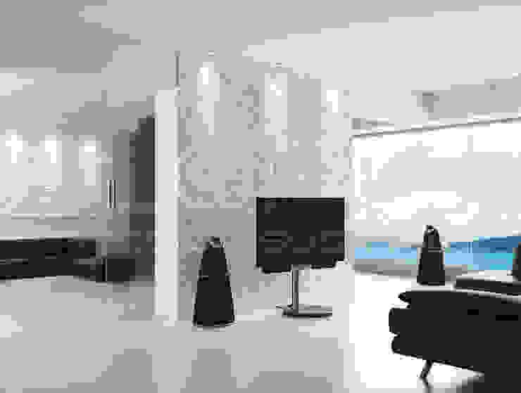 Loft Design System Deutschland - Wandpaneele aus Bayern Living room Concrete