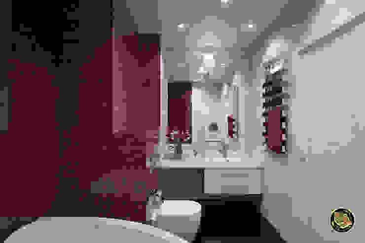 Свежесть Ванная комната в эклектичном стиле от Zibellino.Design Эклектичный