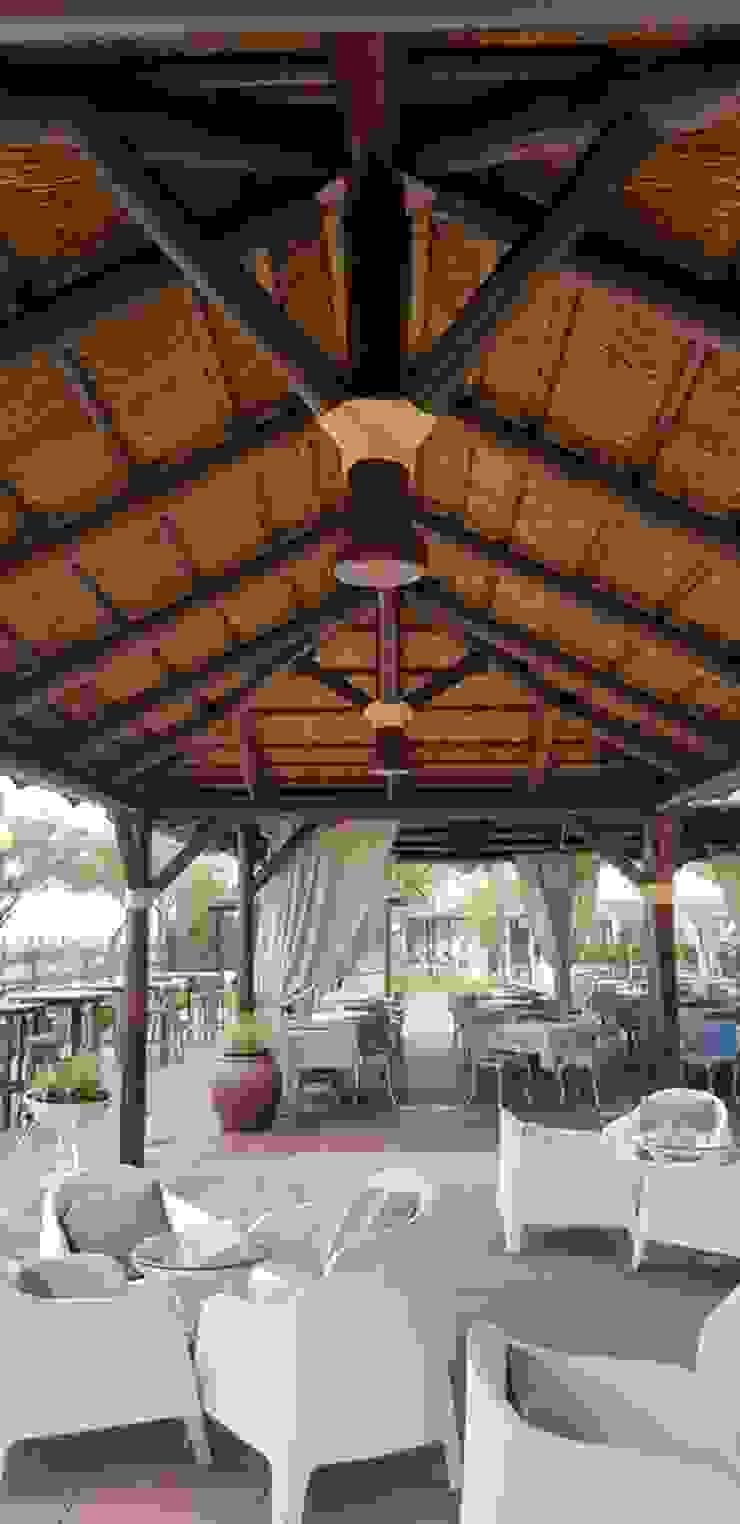 ESTRUCTURAS DE MADERAS RIGÓN, S.L. Garden Greenhouses & pavilions Parket