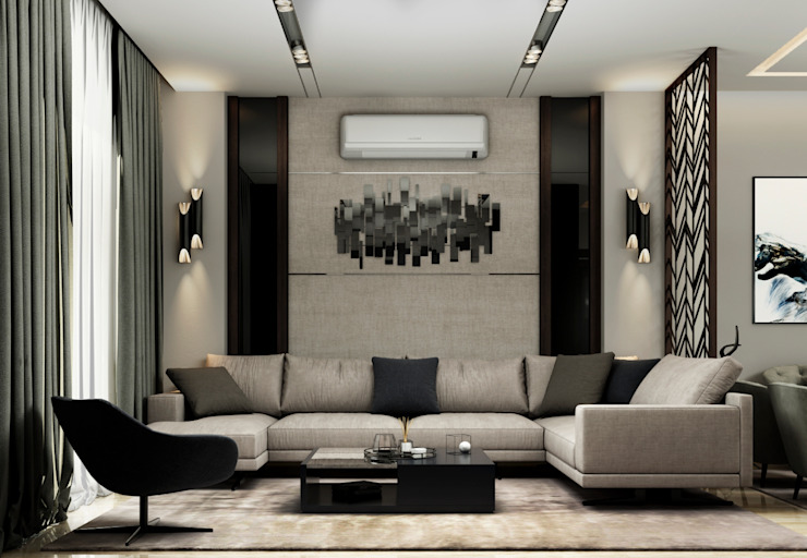 Private Residence , Mountain View New Cairo : حديث  تنفيذ THDstudio , حداثي