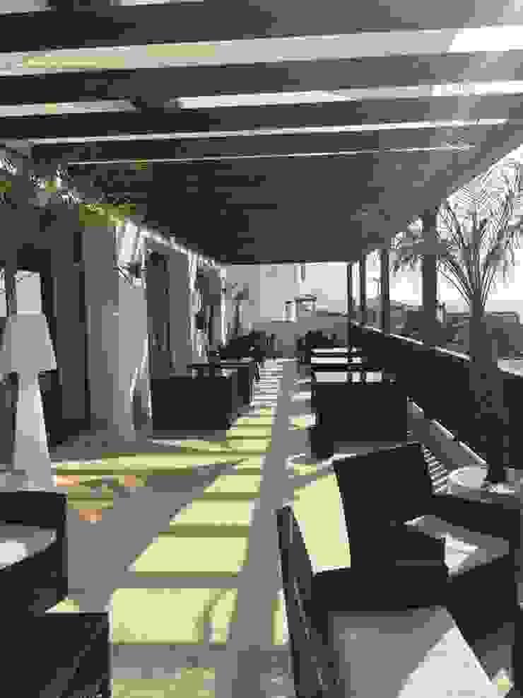 ESTRUCTURAS DE MADERAS RIGÓN, S.L. Balconies, verandas & terraces Accessories & decoration Parket