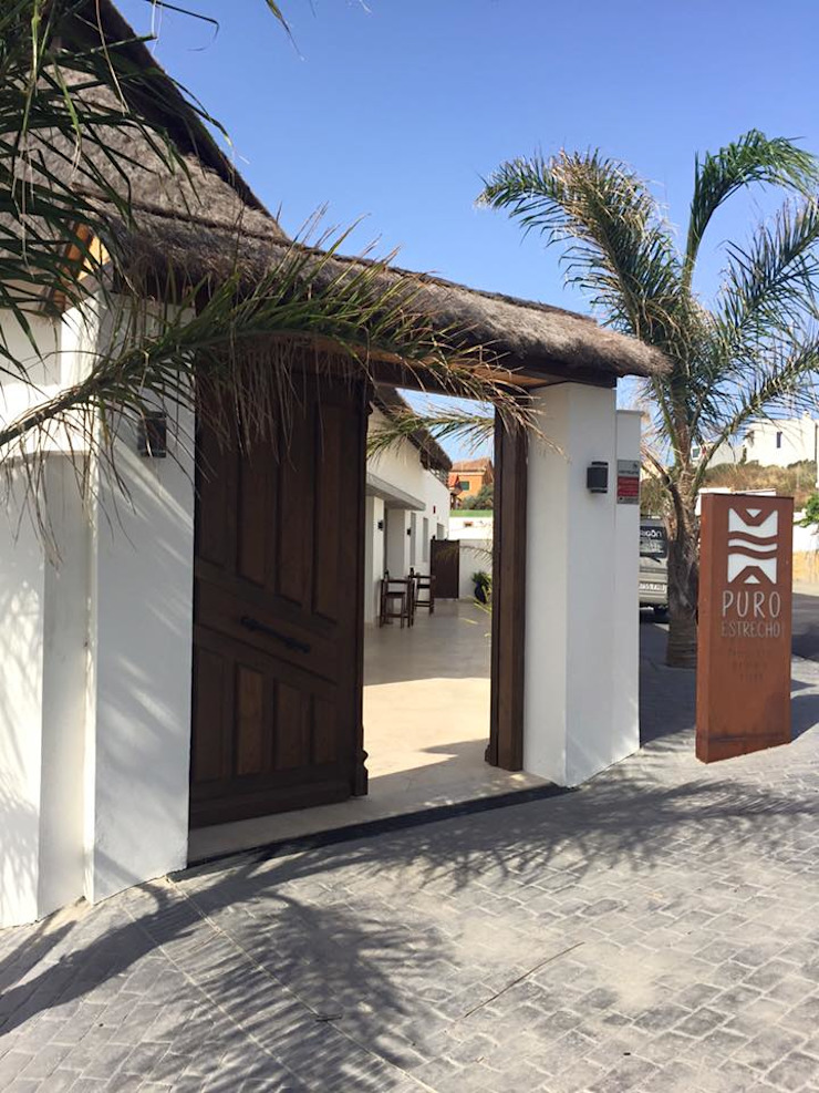 ESTRUCTURAS DE MADERAS RIGÓN, S.L. pintu kayu Parket