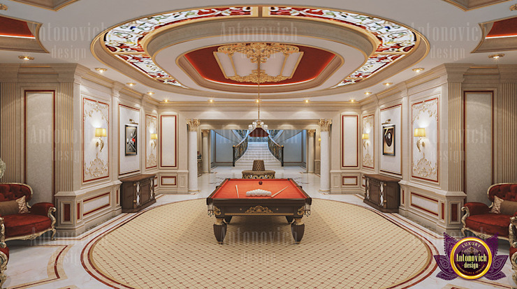 Extravagant Interior Design by Luxury Antonovich Design