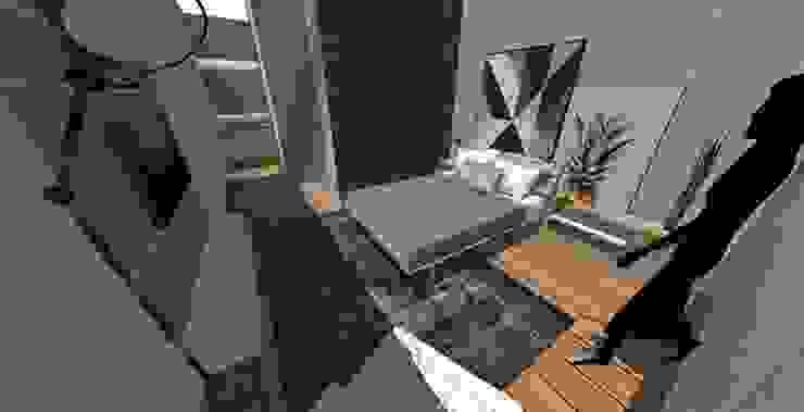 Modern style bedroom by Form Arquitetura e Design Modern Wood Wood effect