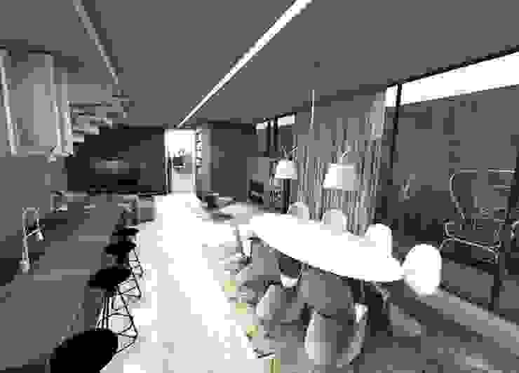 modern  by Form Arquitetura e Design, Modern Concrete