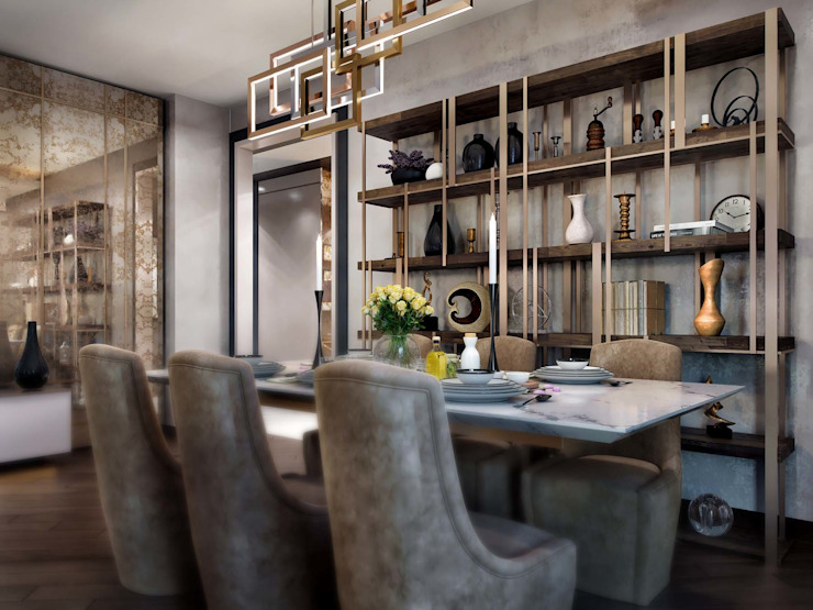 ANTE MİMARLIK  – Yemek odası: modern tarz , Modern