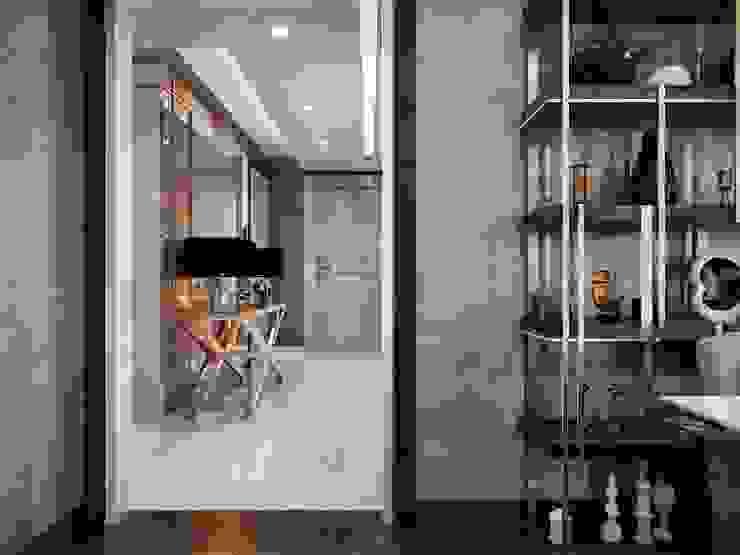 Tavanlar Modern Koridor, Hol & Merdivenler ANTE MİMARLIK Modern