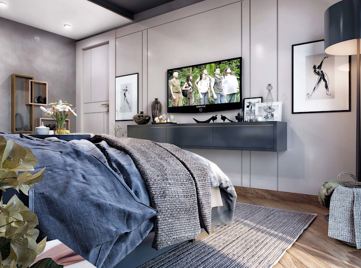 Yatak odası tasarım Modern Yatak Odası ANTE MİMARLIK Modern