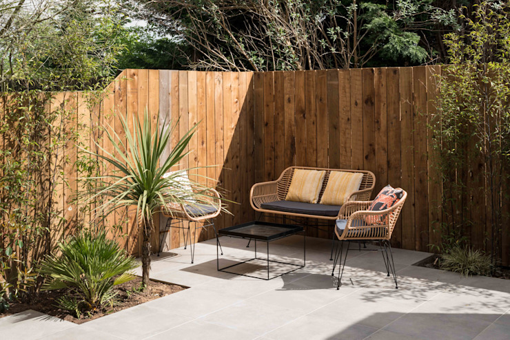 Designcubed Architects - Refurbishment - Greenwich London Designcubed Moderne tuinen