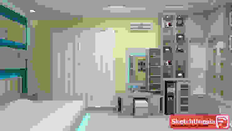 Kamarseet_interior design @sweet home:modern  oleh Sweethome.co.id, Modern Kayu Lapis