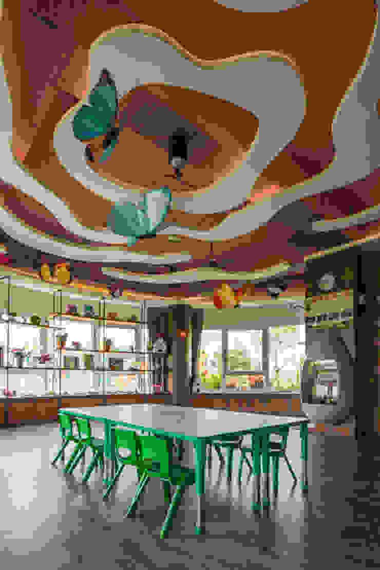 華頓幼兒園-都市中的魔幻森林,沈浸寓教於樂的生態天地 根據 雅群空間設計 現代風