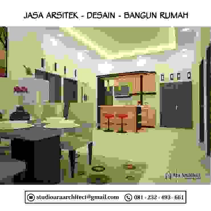 Desain Interior Dapur dan Ruang Makan Bapak Junaedi Blitar Dapur Modern Oleh Ara Architect Studio Modern