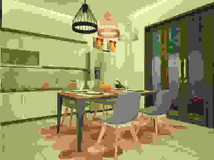 Desain Interior Dapur dan Ruang Makan Bapak Fauzi Di Tangerang Ara Architect Studio Dapur Minimalis