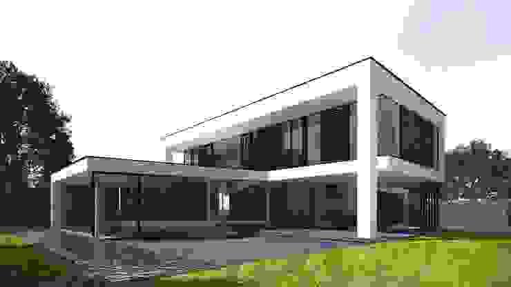 Villa MLVB Moderne huizen van 2architecten Modern