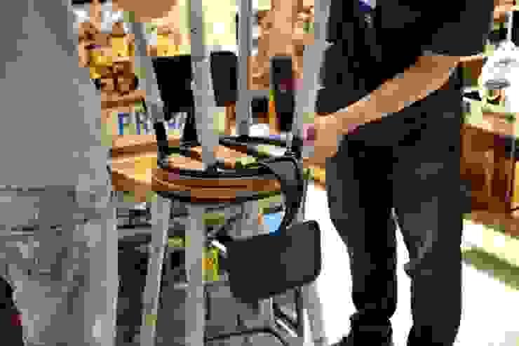 吧台椅訂製: 產業  by ForHome, 工業風
