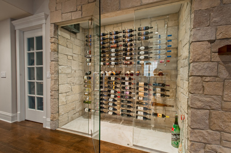 ShoWine Modern Home Wine Cellar Glass